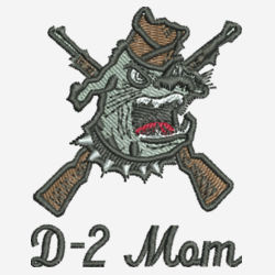 D-2 Mom Origin Performance Polo Design
