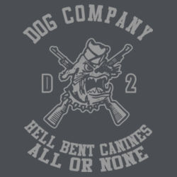 Dog Company CamoHex Performance Tee Design